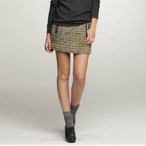 J. CREW Dolce Tweed Mini Skirt